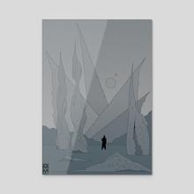Anvil Vapre - Acrylic by Martin Millar