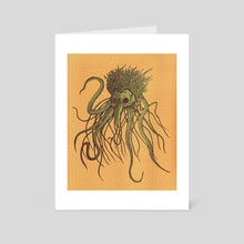 Lovecraftian Creature - Art Card by Christopher Cruz
