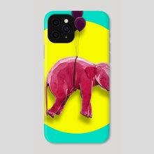 PINK ELEPHANT - Phone Case by Thorsten Schmitt