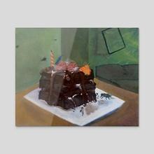 CAKE - Acrylic by Sofia Robledo