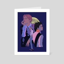 Jonghyun - Art Card by 948moon