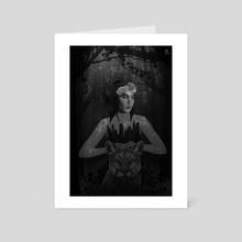 Gaia - Art Card by Rachel McEwan