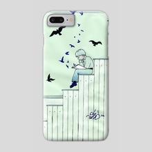 Reader - Phone Case by Kristyna Mojescikova