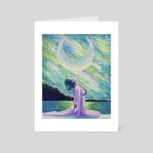 Surrender - Art Card by Danielle Quina