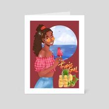 tropic gal - Art Card by veronababy95