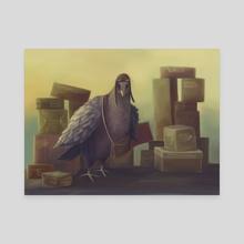 Messenger-pigeon - Canvas by Svetlana Fictionalfriend
