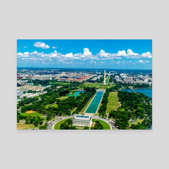 DC from Above by Alex Tonetti