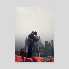 Dying In Your Arms - Canvas by Frank  Moth