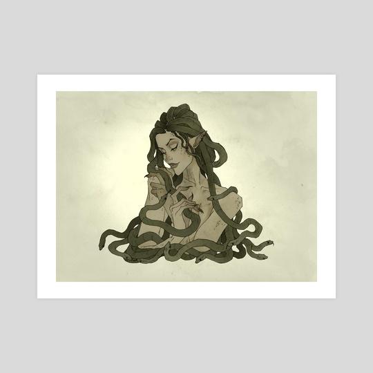Medusa II by Abigail Larson