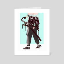 Knife_Party* - Art Card by Vinne.art