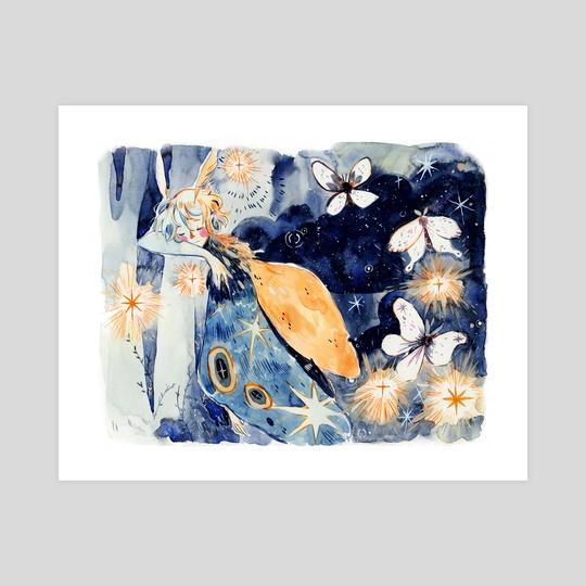 Moths dream by Julie W.