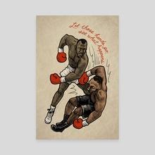 Let Those Hands Go - Canvas by Dorian Draws