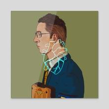Heartman (Ver. 2) - Acrylic by Eurydia
