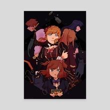 When They Cry (Umineko) - Canvas by taffy bun