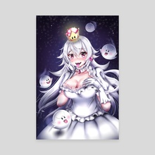 Booette Princess Boo - Canvas by Rach