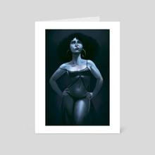 capelli - Art Card by giorgio baroni