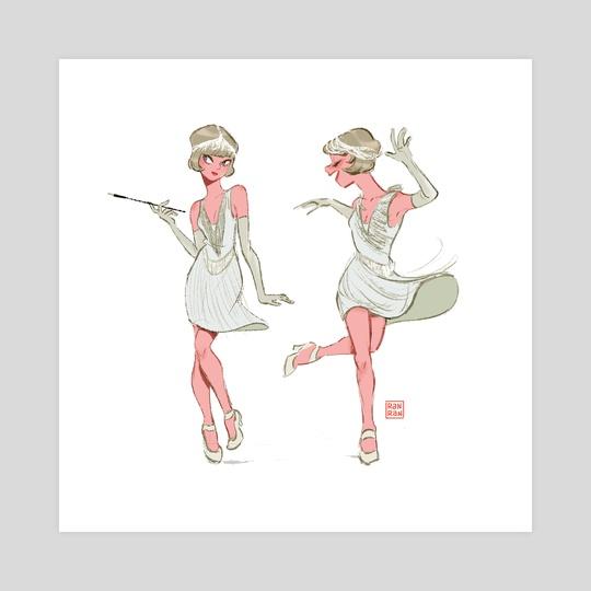 Dancing the Charleston by Ranran