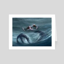 Mermaids - Art Card by Bryan Fogaça Rosado