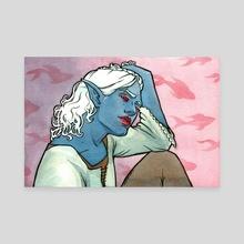 Parzival - Canvas by Chelsea Davis
