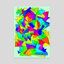 Obliquity - Canvas by Alberto Carlos  Montana  © ( ͡° ʖ̯ ͡°)