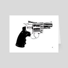 Gun #27 - Art Card by Giuseppe Cristiano