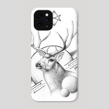 Deer - Phone Case by Ioanna Kolokotroni