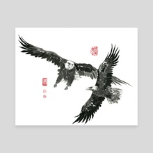 Eagle - 19 - Canvas by River Han