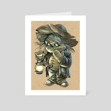 bogey man - Art Card by Alexandra Petruk