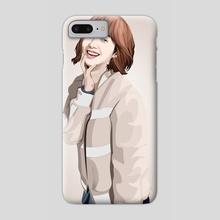 Park Min Young illustration - Phone Case by Muhammad Sidik