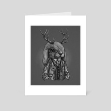 Jackalope Apothecary - Art Card by West Seven Art