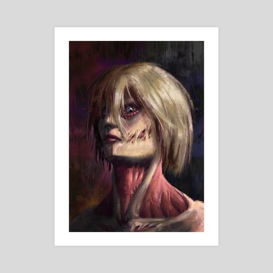 Female Titan Portrait by Jordi Rapture