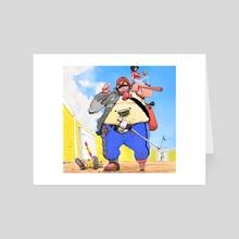 Bombero-Torero - Art Card by Holy Naiguata