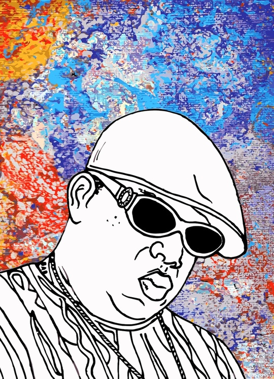 Notorious B.I.G. by Sam Haidemenos