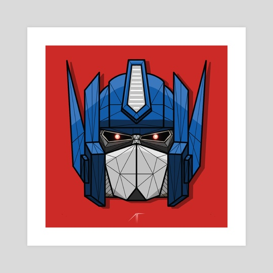Optimus Prime by Animesh Tewari