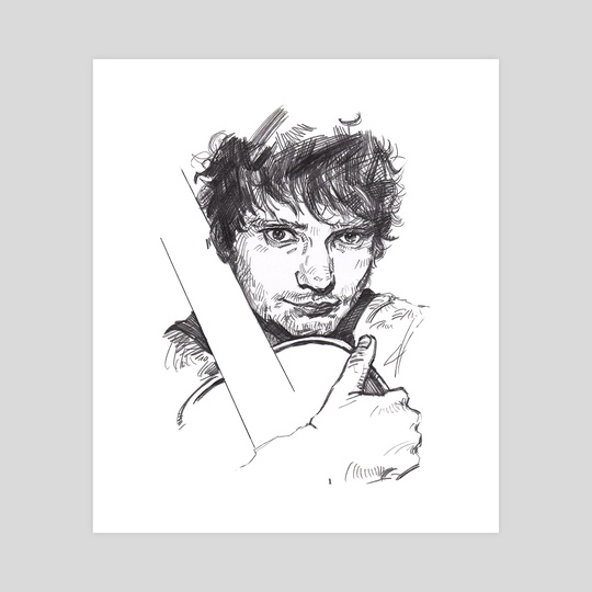 Ed Sheeran by SongYi Lee