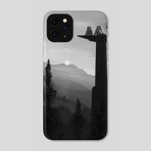 The Answer - Phone Case by Ra Lu