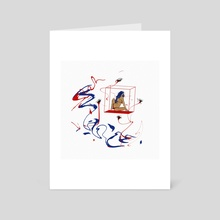 ENVY. - Art Card by Mahima Chaudhury
