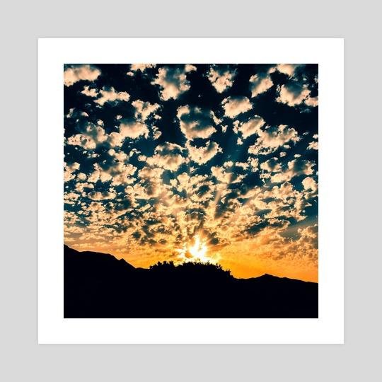 Cloudy Sunrise (MKW-I.18) by Kat Wicks