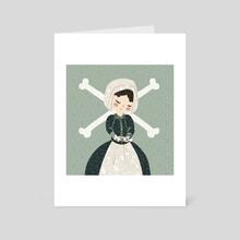 Lorna - Art Card by Andrea Thompson