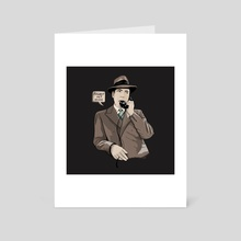 Bogart - Art Card by Stephan Parylak