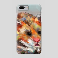 Hamster - Phone Case by HYZO