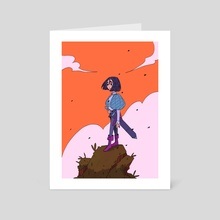 warrior - Art Card by musethe