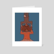 Hursts 2 - Art Card by Ana Critchfield