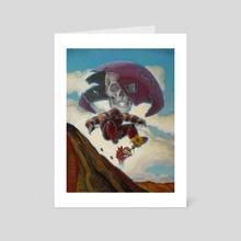 Magic Man, Magic Land - Art Card by John Larriva
