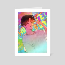 HOPE BOY - Art Card by weenya
