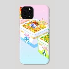 Pokemon Ramen  - Phone Case by Cube Mama