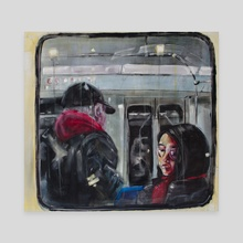 In Transit  - Canvas by Reese Wallace