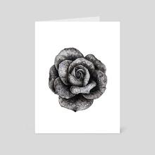 Dark Rose - Art Card by Nika Akin