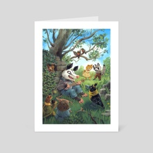The Opossum's Song - Art Card by Victoria Maderna