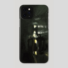 Rainy highway at night - Phone Case by Christian Muller
